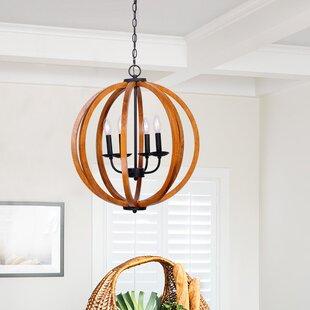 Gracie Oaks Landrum 4-Light Pendant