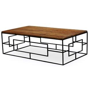 Elm Coffee Table by Sarreid Ltd Modern