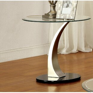 Feemster End Table by Orren Ellis
