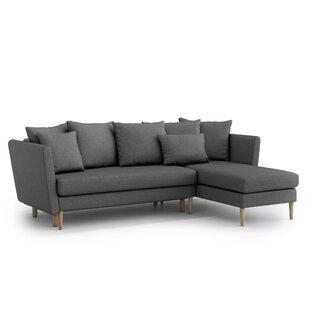 Agosto Universal Reversible Sleeper Corner Sofa Bed By Brayden Studio