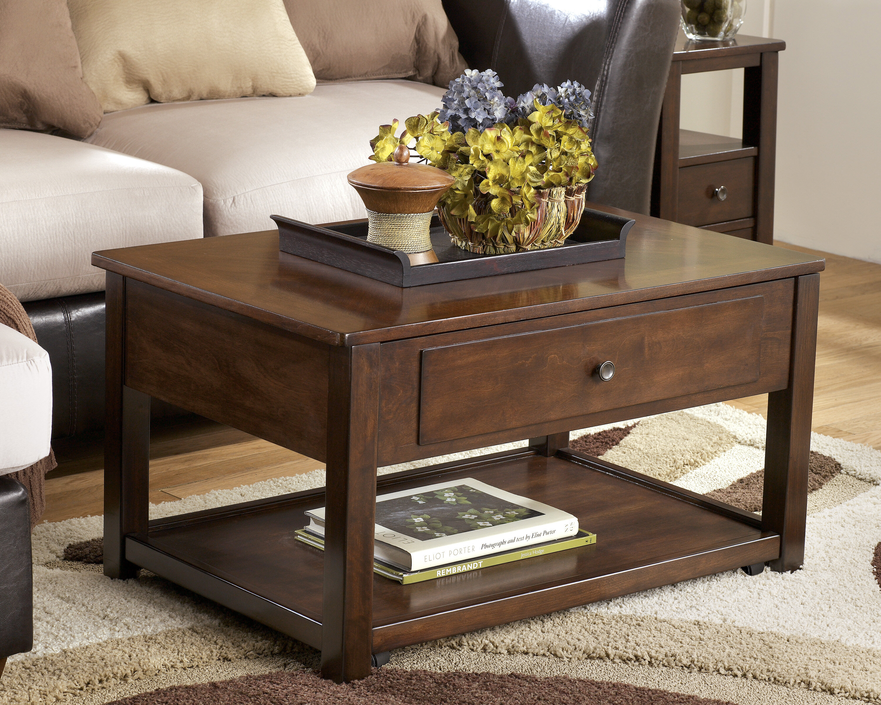 Darby Home Co Eastin Coffee Table With Lift Top Reviews Wayfair