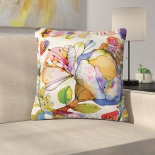 Bourke Blossom Pastel Throw Pillow