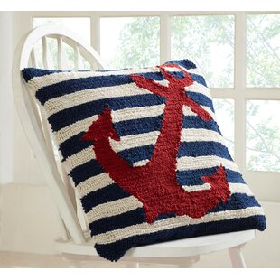Lafollette Anchor Indoor/Outdoor Throw Pillow