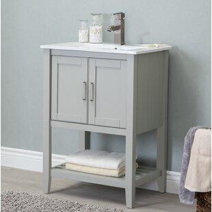 save petersburgh 24 single bathroom vanity - Single Bathroom Vanity