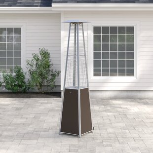 Barnwell 40,000 BTU Propane Standing Patio Heater By Sol 72 Outdoor