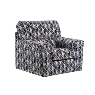 Brust Swivel Armchair
