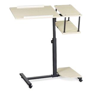 Steffan Adjustable Laptop Cart By Symple Stuff