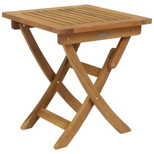 Andrimont Folding Wooden Side Table Image