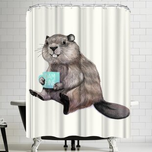 Laura Graves Damnfine Coffee Single Shower Curtain