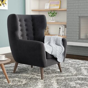 Alejandro Wingback Chair by Corrigan Studio Cheap