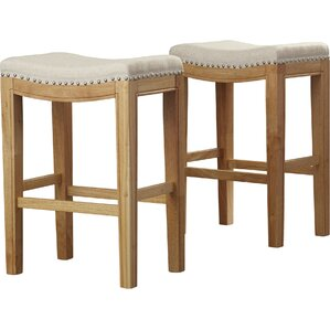 Lyda 26  Bar Stool  Set  Fabric Bar Stools You ll Love   Wayfair. Fabric Covered Counter Height Chairs. Home Design Ideas