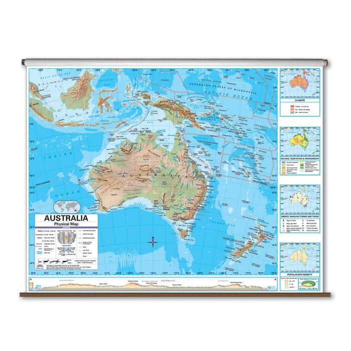 Advanced Physical Map - Australia
