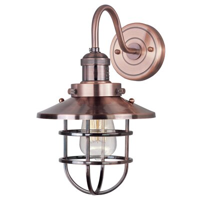 17 Stories Archie 1 Light Armed Sconce