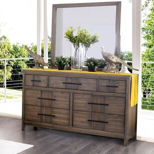 Union Rustic Brooten 7 Drawer Dresser