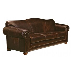 Omnia Leather Sedona Leather Sofa Image