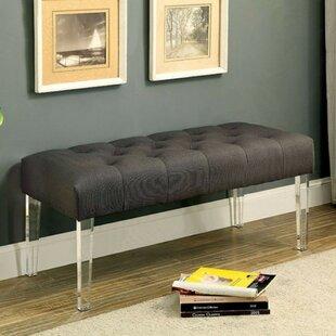 Mercer41 Kellar Sassy Style Upholstered Bench
