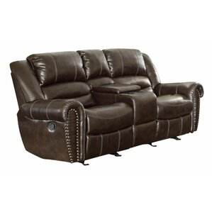 Attractive Medici Leather Reclining Sofa