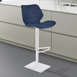Freed Adjustable Height Swivel Bar Stool