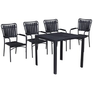 Highland Dunes Greater 5 Piece Dining Set