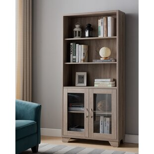Bemidji Contemporary Standard Bookcase by Foundry Select
