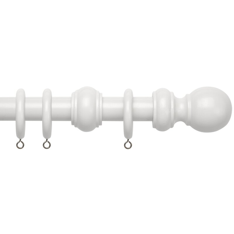 Speedy Products County Curtain Pole And Hardware Set