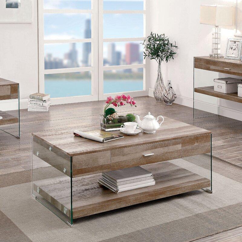 Superbe Guero Contemporary Coffee Table