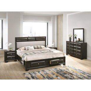 Beagan Platform 5 Piece Bedroom Set