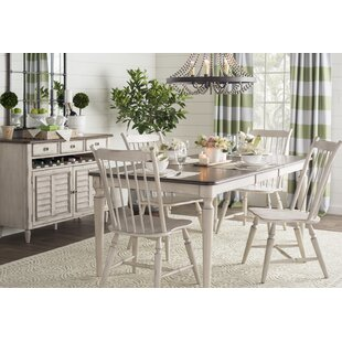 Baleine 5 Piece Extendable Dining Set