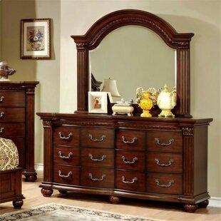Underwood 12 Drawer Double Dresser by Fleur De Lis Living