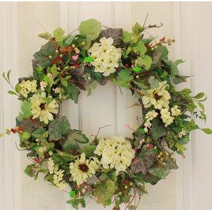 Large Front Door Wreaths | Wayfair