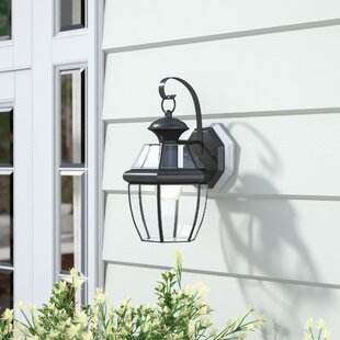 Top Reviews Mellen LED Outdoor Wall Lantern By Three Posts