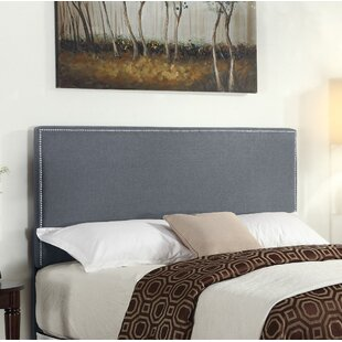 Inexpensive Bronte Upholstered Panel Headboard by Ebern Designs