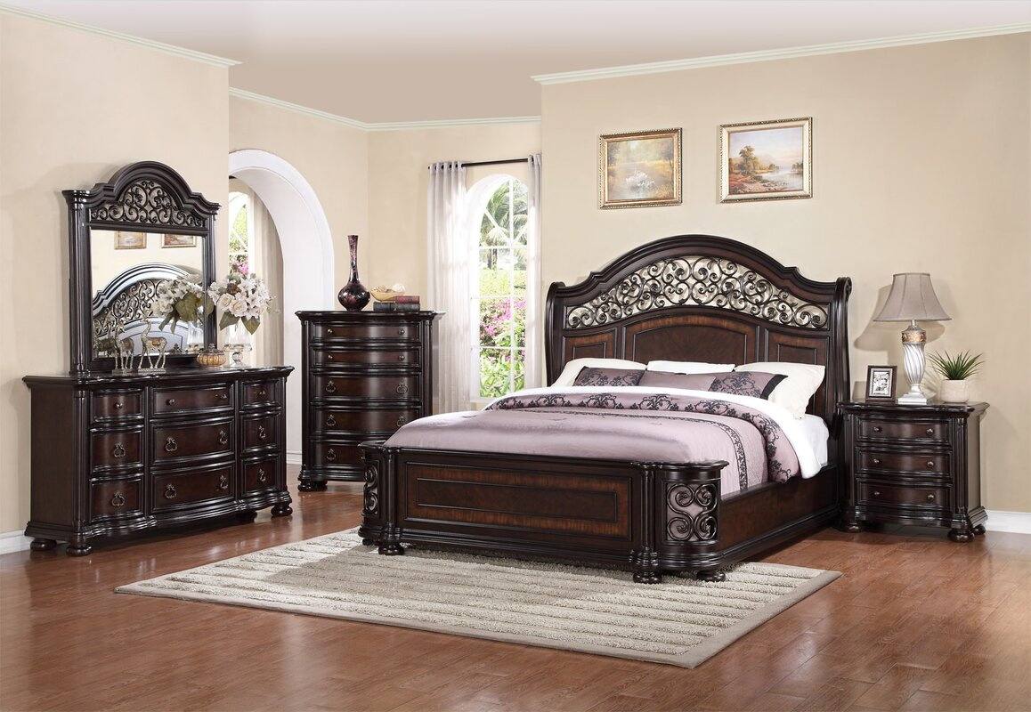 sers badcock allura package more bedroom pc sets king black