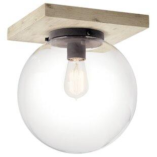 Leidesdorff 1-Light Semi Flush Mount by Brayden Studio