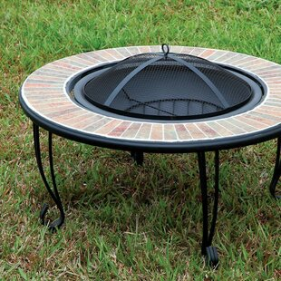 A&J Homes Studio Ammon Cast Iron Fire Pit