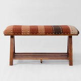 Seese Upholstered Storage Bench by World Menagerie