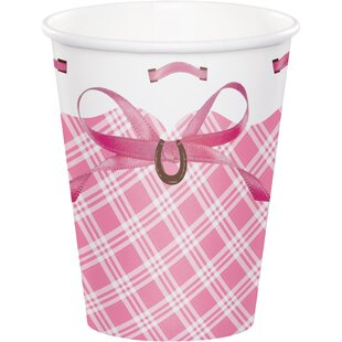 Heart My Horse Paper Disposable Cup (Set of 24)