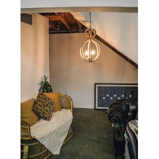Deals 3-Light Geometric Chandelier By Old Modern Handicrafts