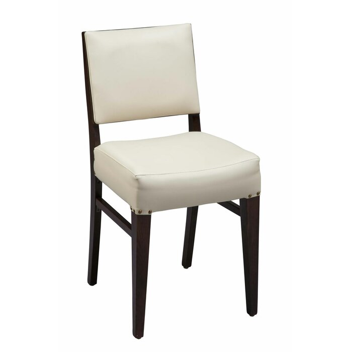 Fine Beechwood Solid Back Fully Seat Upholstered Dining Chair Pabps2019 Chair Design Images Pabps2019Com