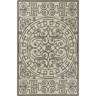 Edinburgh Hand-Woven Ivory/Gray Indoor/Outdoor Area Rug