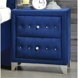 Keeble 2 - Drawer Nightstand by Rosdorf Park