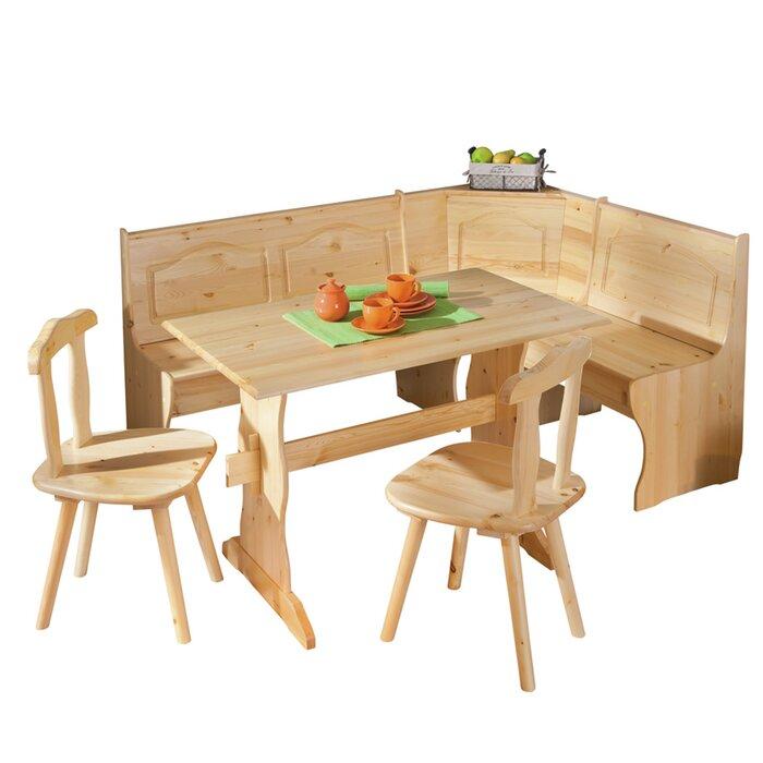 Strange Wamsutter Corner Dining Set With 2 Chairs And Storage Bench Unemploymentrelief Wooden Chair Designs For Living Room Unemploymentrelieforg