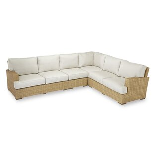 Sunset West Leucadia Sectional with Cushions