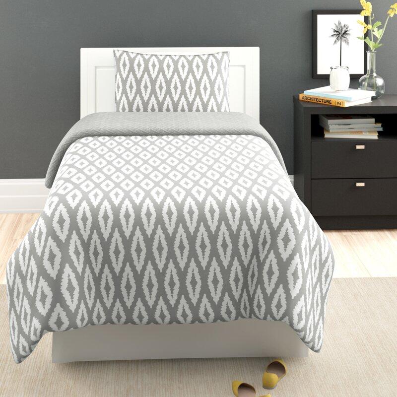Zipcode Design Orval 2 Piece Reversible Comforter Set Reviews Wayfair