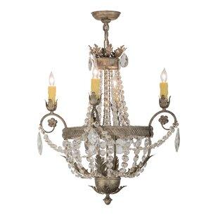 Meyda Tiffany Antonia 4-Light Empire Chandelier