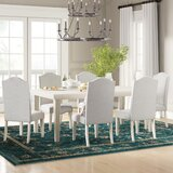 Rodrigue 7 Piece Extendable Solid Wood Dining Set by Canora Grey