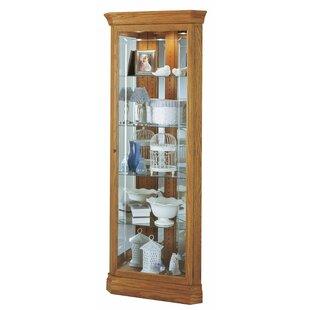 Darby Home Co Brannen Corner Curio Cabinet