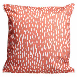 Stevensville Coral Throw Pillow
