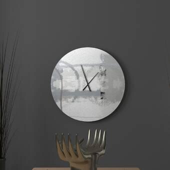 East Urban Home Braiden Wall Clock Wayfair