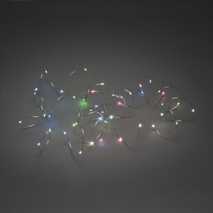 100 Multicolour RGB LED Fairy Light By Konstsmide